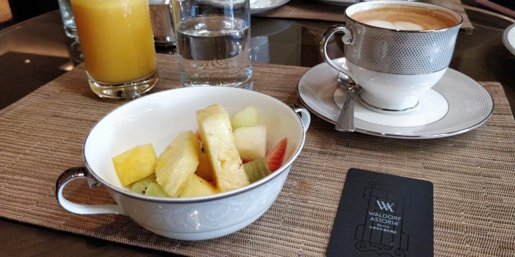 Waldorf Astoria Peking Frühstück 8