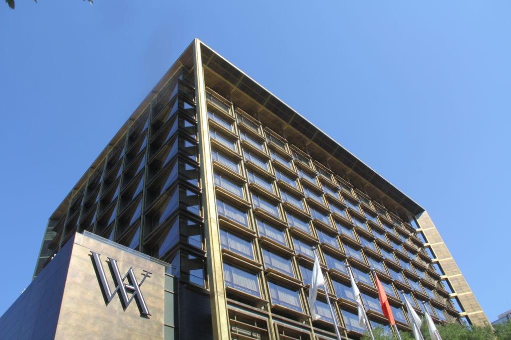 Waldorf Astoria Peking Gebäude