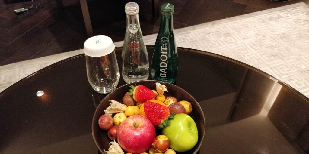 Waldorf Astoria Peking Willkommensgeschenk