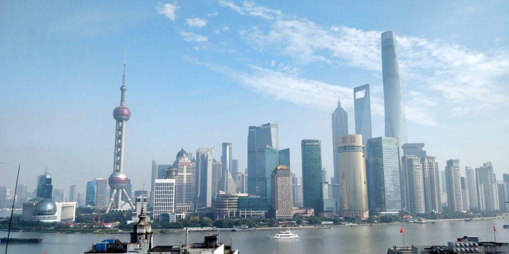 Waldorf Astoria Shanghai Ausblick