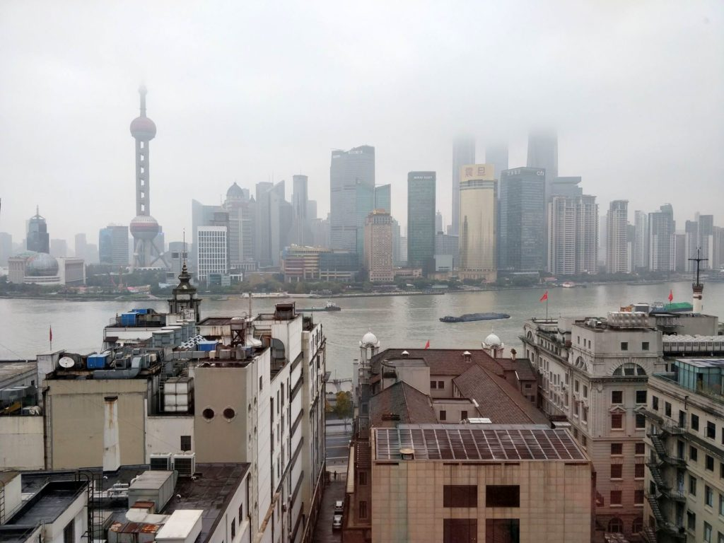 Waldorf Astoria Shanghai Ausblick 2
