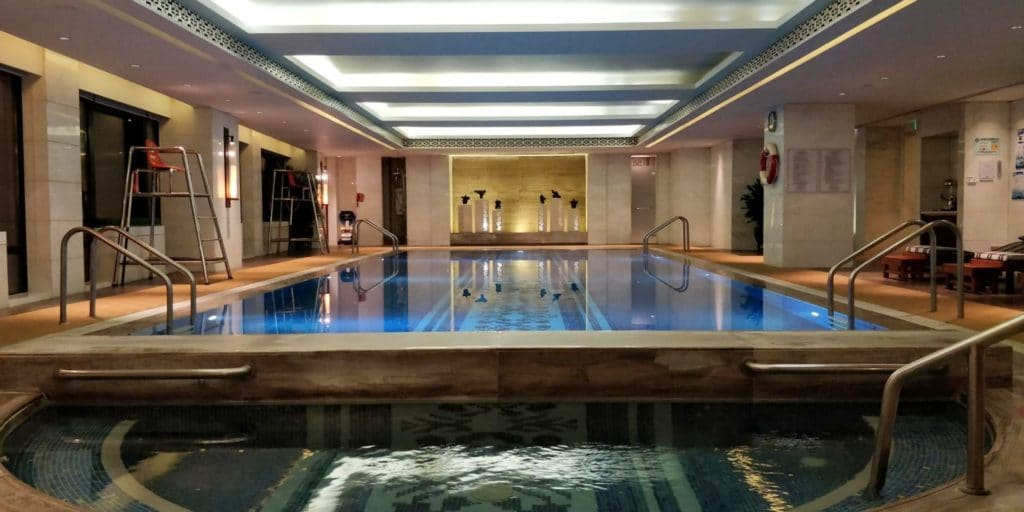 Waldorf Astoria Shanghai Pool 3