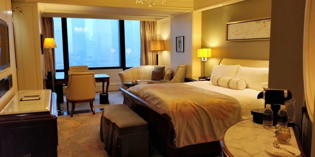 Waldorf Astoria Shanghai Zimmer