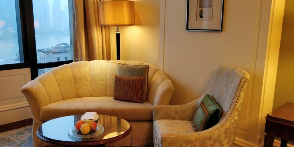 Waldorf Astoria Shanghai Zimmer 3