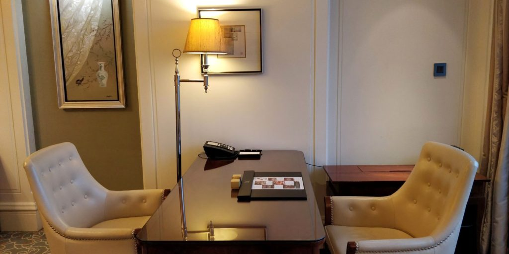 Waldorf Astoria Shanghai Zimmer 4