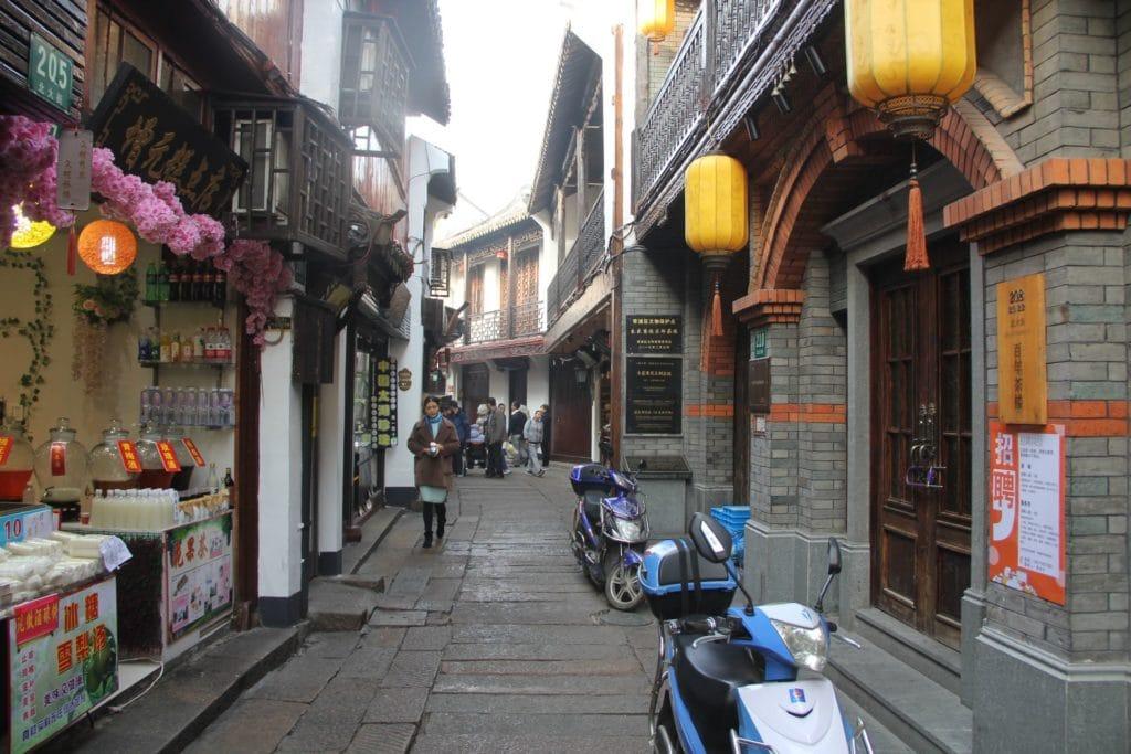 Zhujiajiao Enge Straße
