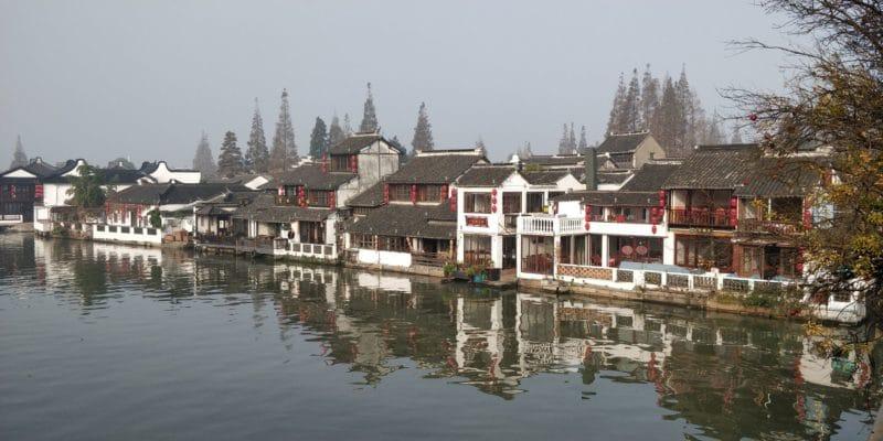 Zhujiajiao Fengshen Brücke Ausblick 4