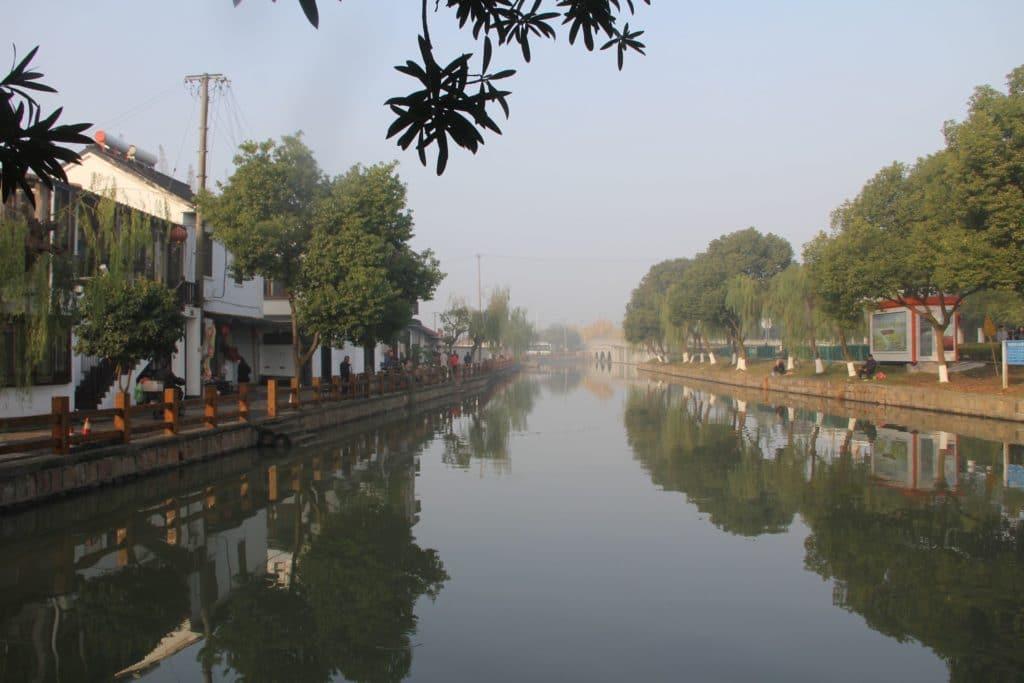 Zhujiajiao Fluss