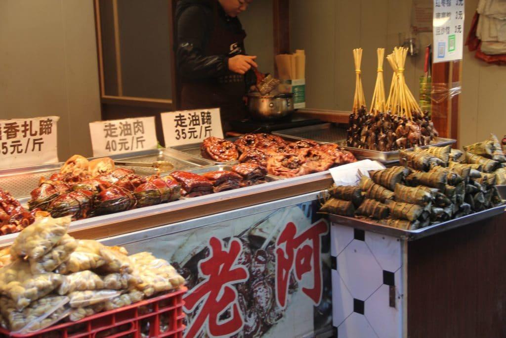 Zhujiajiao Straßenverkäufer