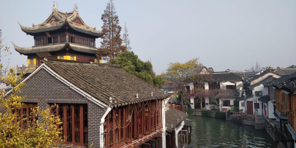Zhujiajiao Yuanjin Buddhist Tempel