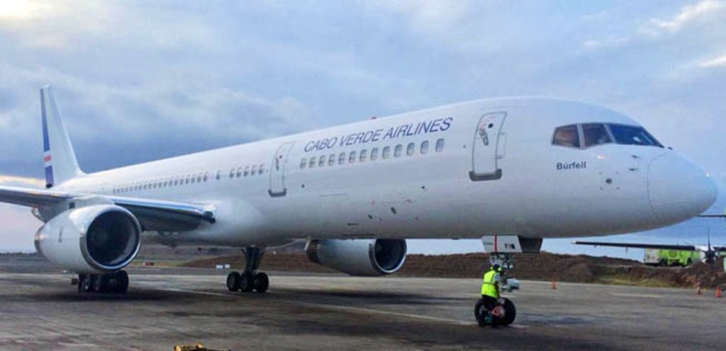 Boeing 757 Cabo Verde Airlines