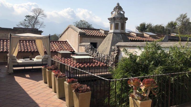 El Convento Boutique Hotel Antigua Guatemala Terrasse
