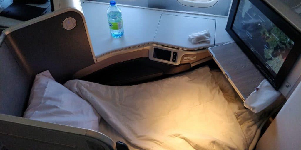Air Canada Business Class Boeing 777 Bett