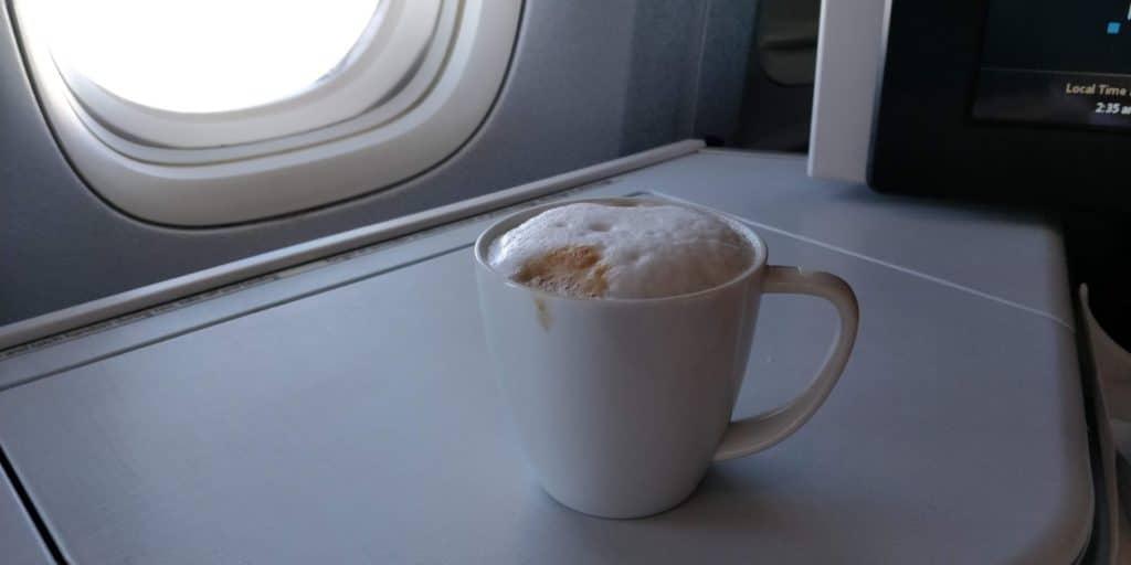 Air Canada Business Class Boeing 777 Essen 4