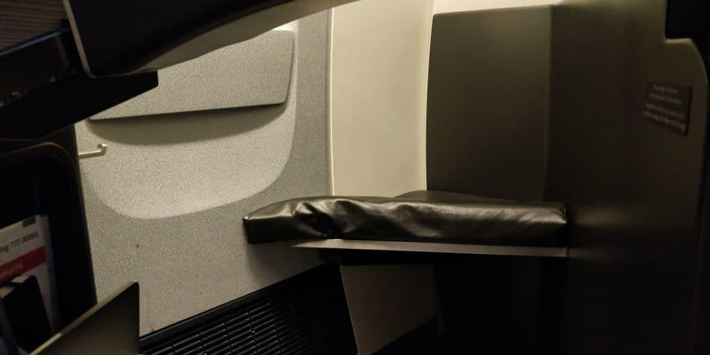 Air Canada Business Class Boeing 777 Sitz 14