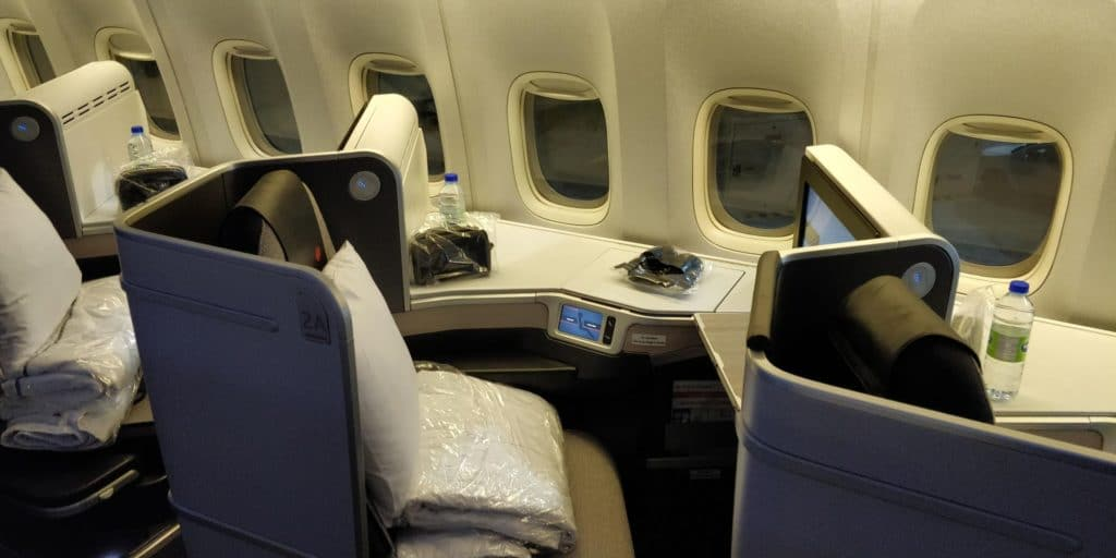 Air Canada Business Class Boeing 777 Sitz 3