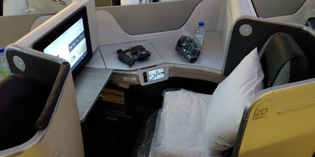 Air Canada Business Class Boeing 777 Sitz 4