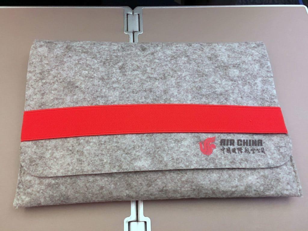 Air China Premium Economy Class Amenity Kit