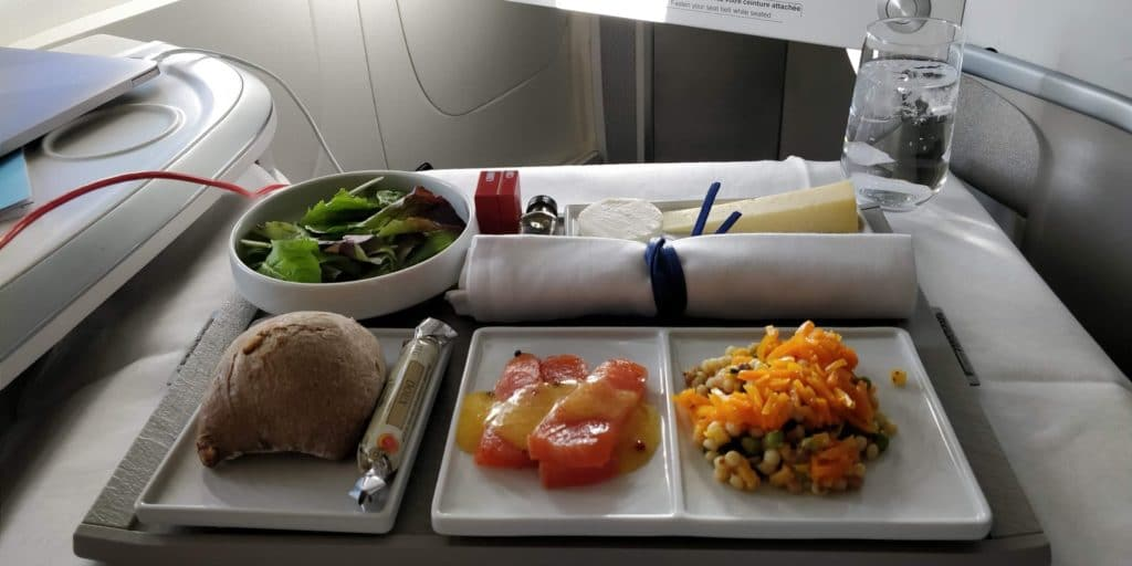 Air France Business Class Essen 2