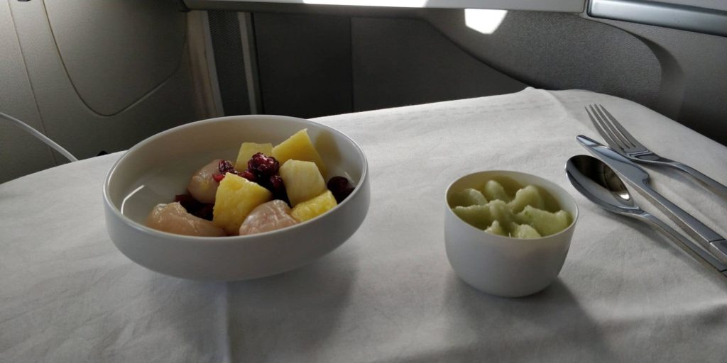 Air France Business Class Essen 4