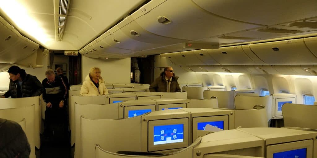 Air France Business Class Kabine 1