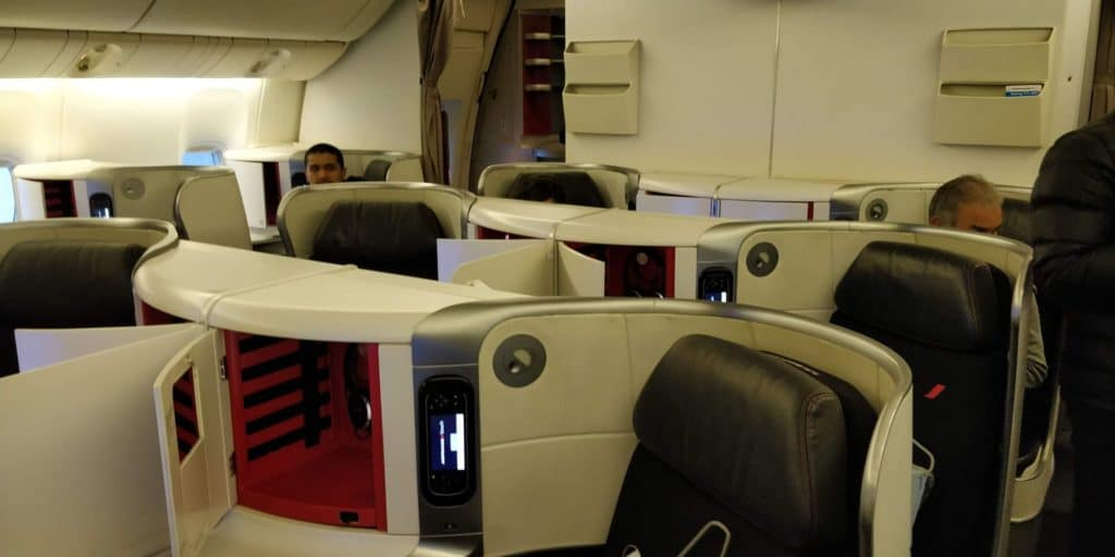Air France Business Class Kabine 2