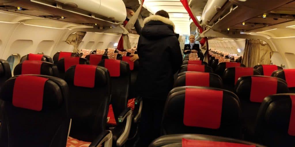 Air France Business Class Kurzstrecke Sitz 1