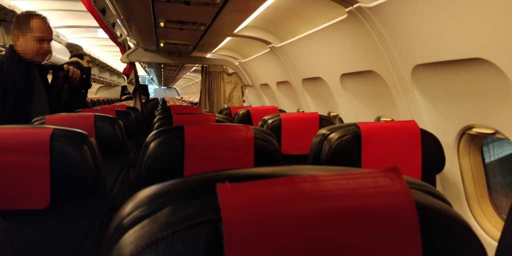 Air France Business Class Kurzstrecke Sitz 2