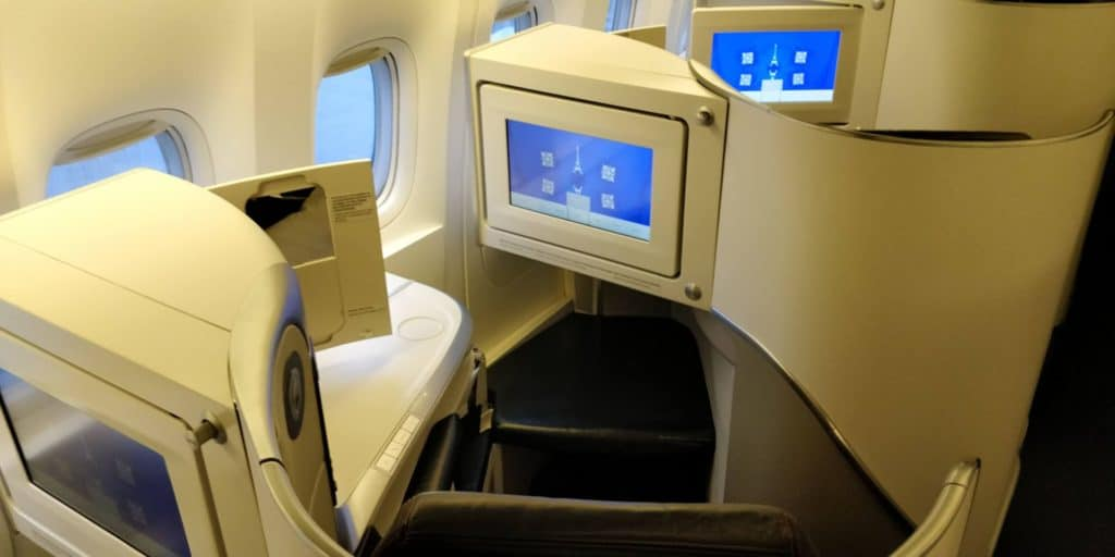 Air France Business Class Sitz 1
