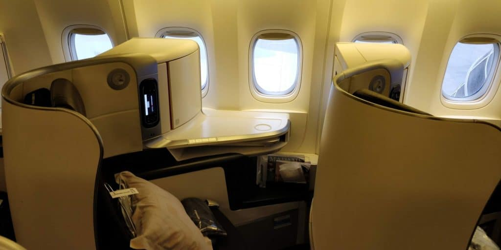 Air France Business Class Sitz 2