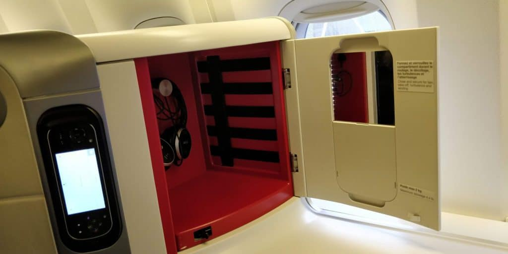 Air France Business Class Sitz 3