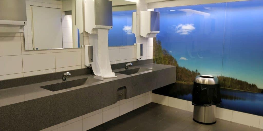Aspire Lounge Helsinki Toiletten
