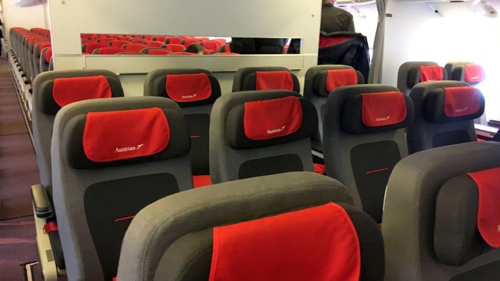 Austrian Airlines Premium Economy Class Kabine