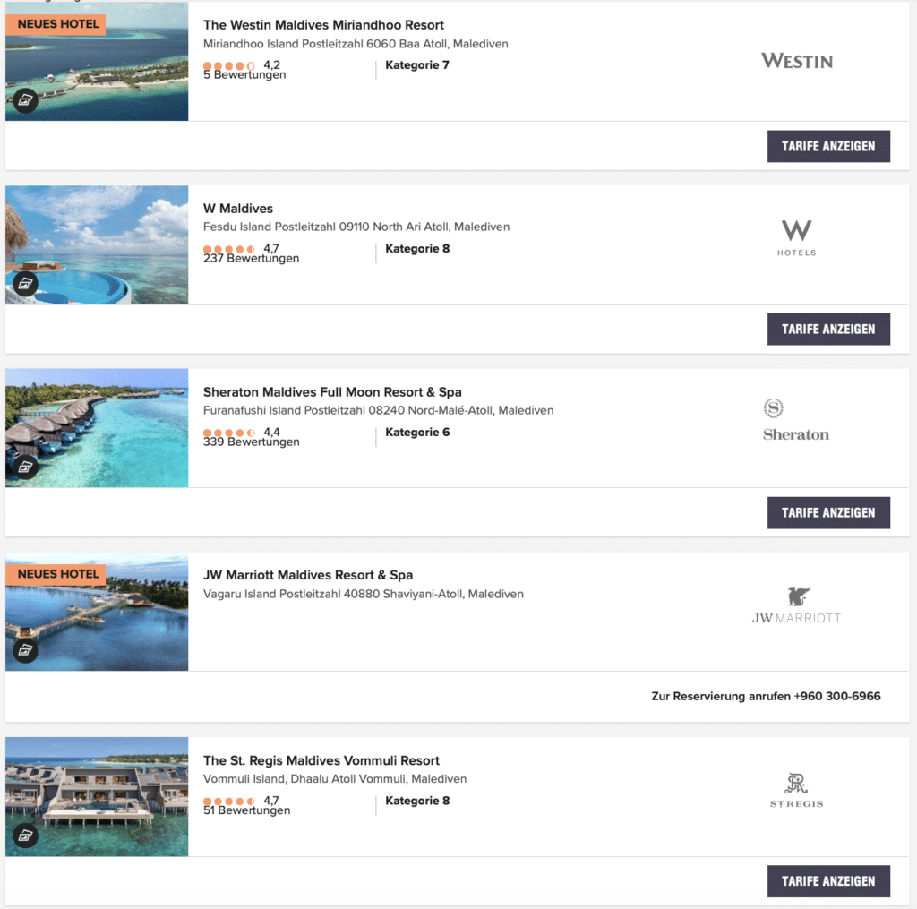 Marriott Malediven