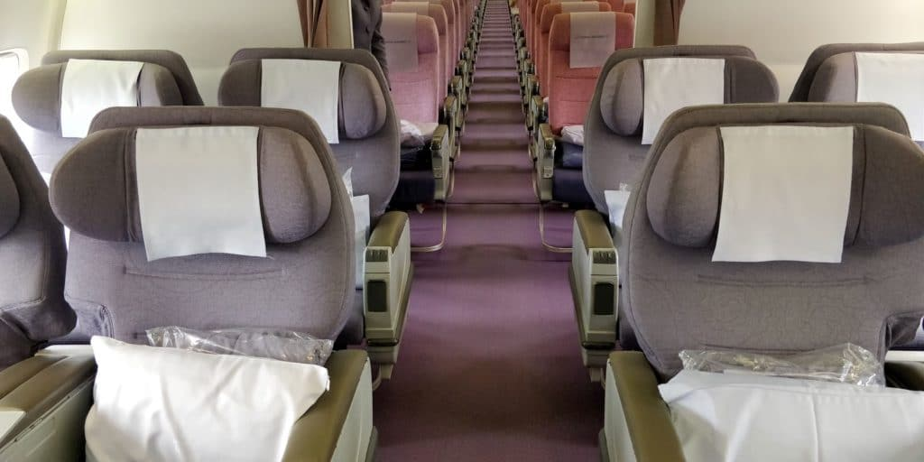 China Airlines Business Class Boeing 737 Sitz