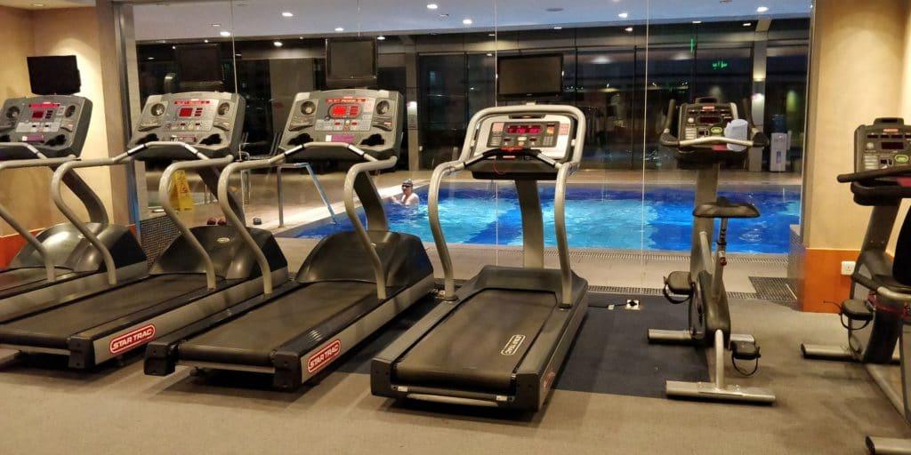 Crowne Plaza Shanghai Century Park Fitness