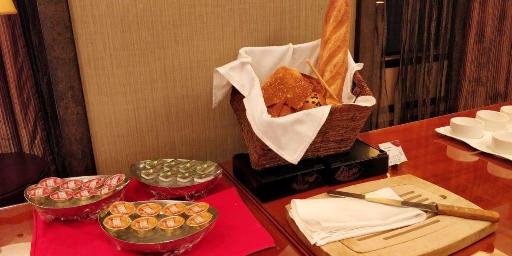 Crowne Plaza Shanghai Century Park Lounge Abendessen 5