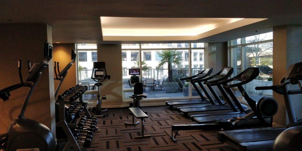 Fairmont Vancouver Fitness Wellness 4