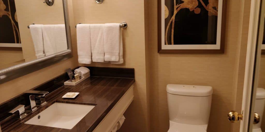 Fairmont Vancouver Zimmer 1