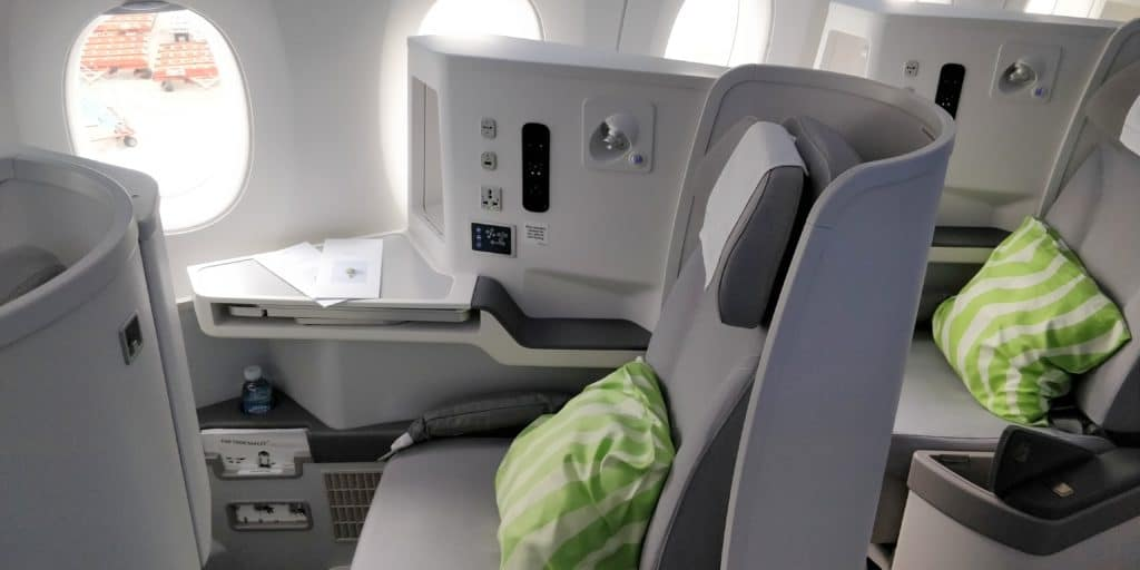 Finnair Business Class Airbus A350 Sitz
