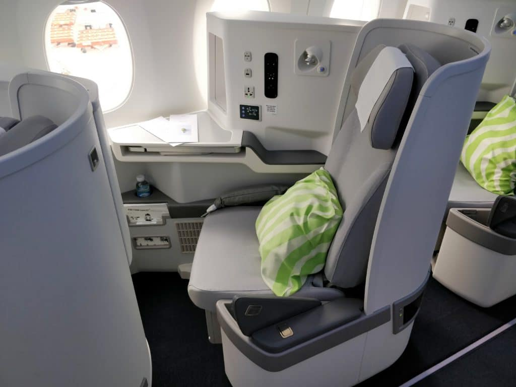 Finnair Business Class Airbus A350 Sitz 6