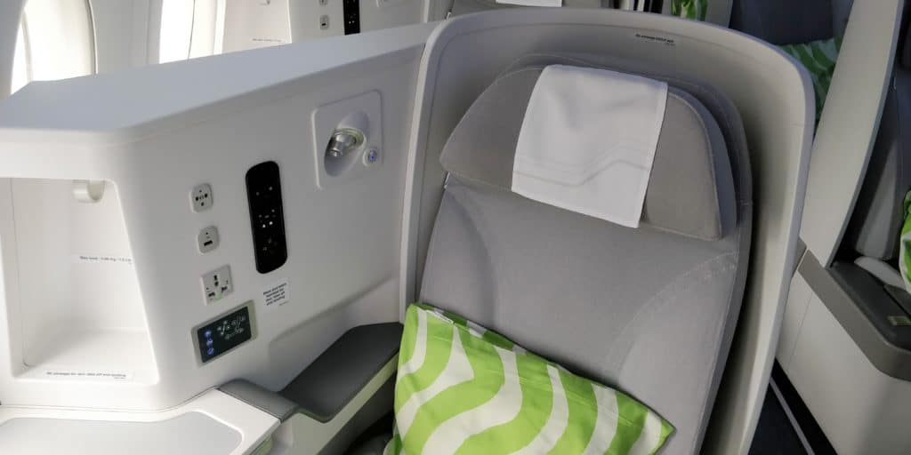 Finnair Business Class Airbus A350 Sitz 7