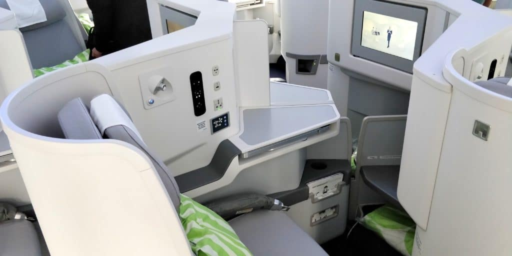 Finnair Business Class Airbus A350 Sitz 8