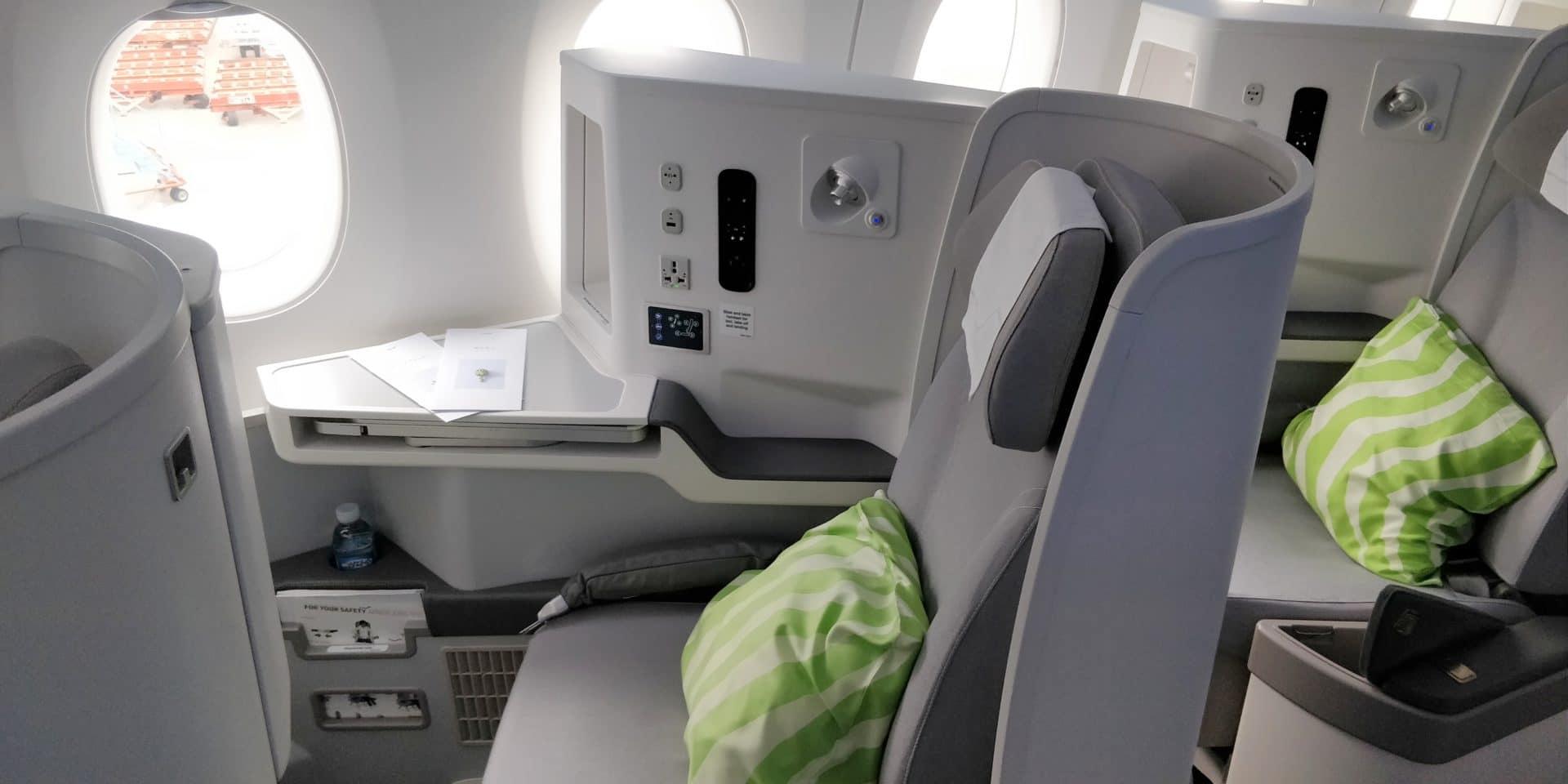 Finnair Business Class Airbus A350 Sitz