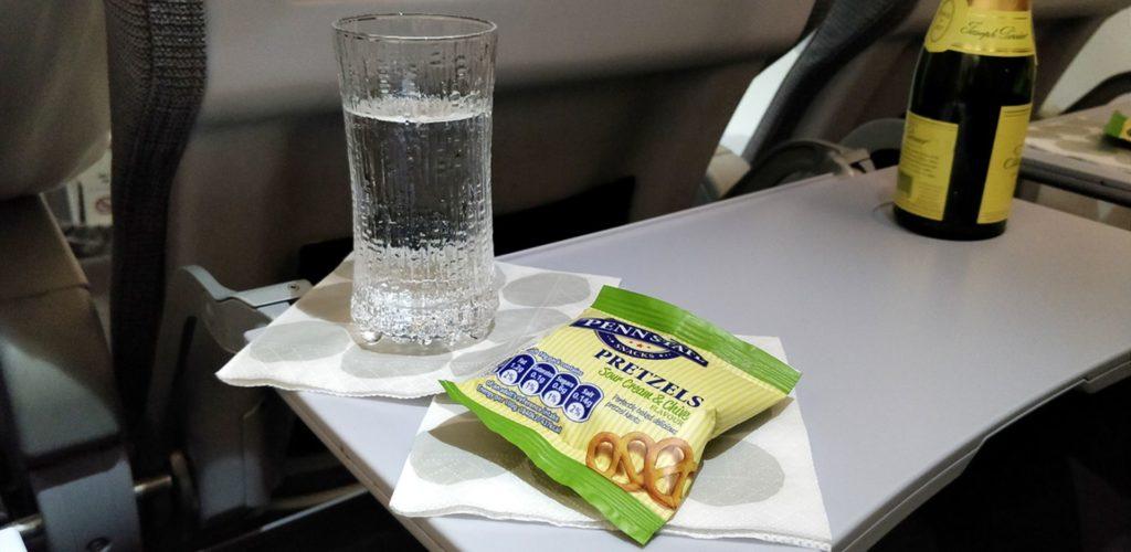 Finnair Business Class Kurz Und Mittelstrecke Snack