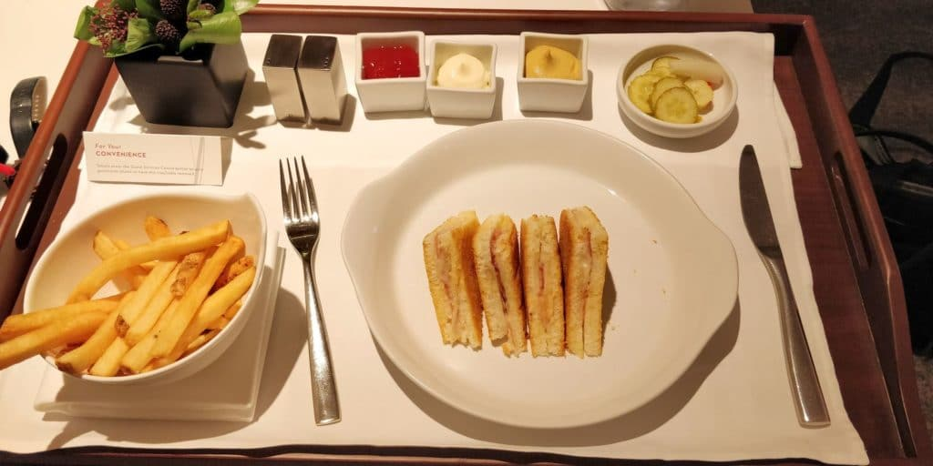 Grand Hyatt Incheon Room Service 2