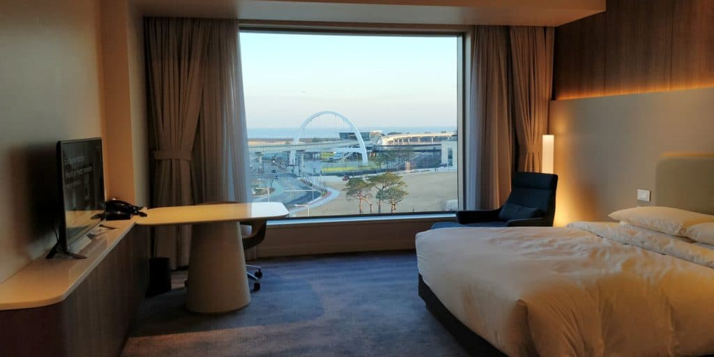 Grand Hyatt Incheon Zimmer