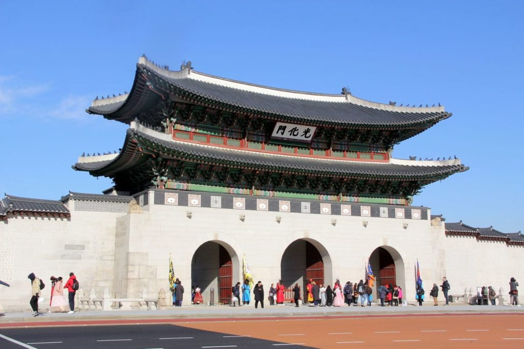 Gwnaghwamun Gate Seoul