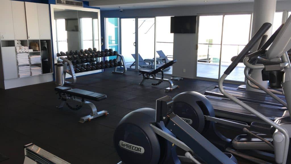 Hilton Auckland Fitnesscenter