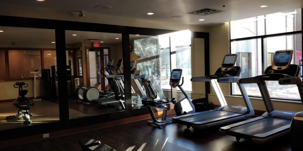 Hilton Whistler Resort Spa Fitness 2